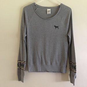 PINK Victoria's Secret Leopard Print Sweater